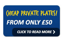 Cheap Private Nuber Plates