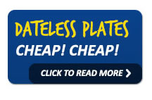 Bargain Dateless Number Plates