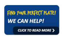 Help Finding Your Perfect Plate